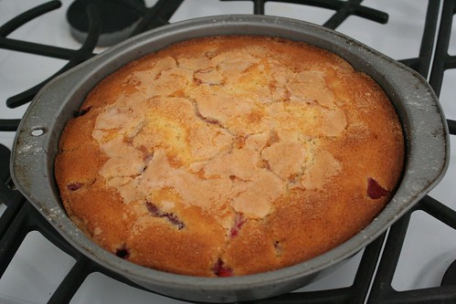 baked :: Strawberry Buttermilk Cake