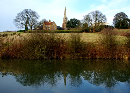 20130113-07_Church Spire Reflection - Braunston by gary.hadden