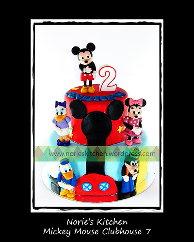 Norie's Kitchen - Mickey Mouse Clubhouse Cake 7 by Norie's Kitchen