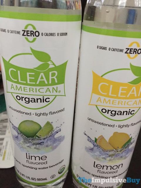 Clear American Organic Sparkling Water (Lime and Lemon)
