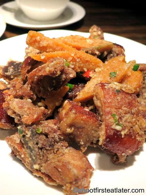 deep fried duck meat with salt HK$78