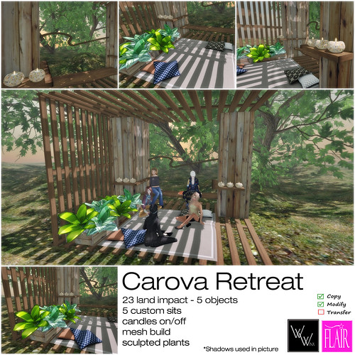 WWinx & Flair - Carova Retreat - ad