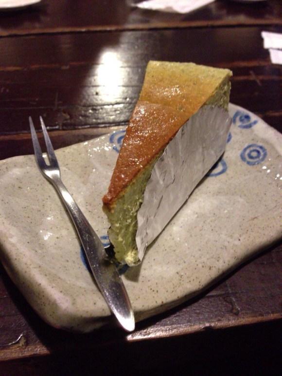 烏龍茶チーズケーキ