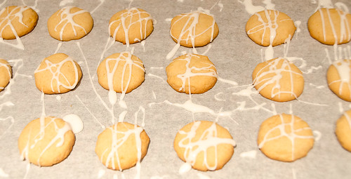 Glazed Lemon Honey Cookies