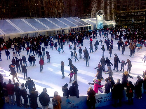 Citipond in Bryant Park