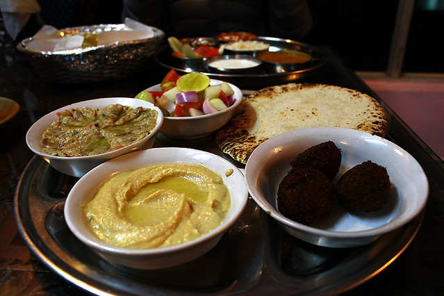 Middle East thali