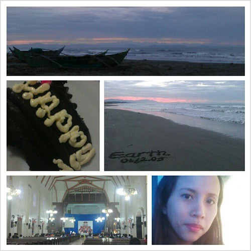 Happy #nofilter #beach #church #cake #igers
