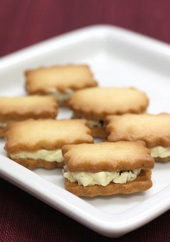 2013年2月のレッスン「レーズンサンドクッキー」