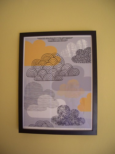 Eloise Renouf Print - I Love Clouds