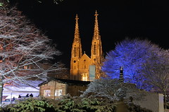 the protestant church during the festive season