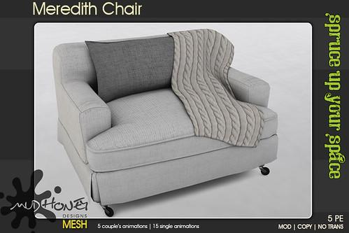 mudhoney meredith chair