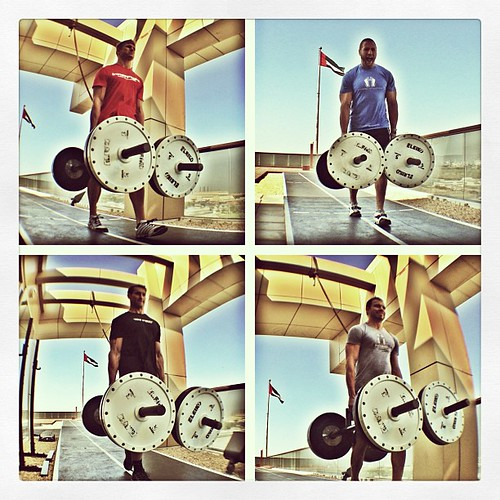 Pick up heavy things and walk #simple #training #strength #fun #workout #innerfight #evolve