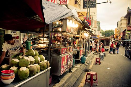 Street stalls in Chinatown