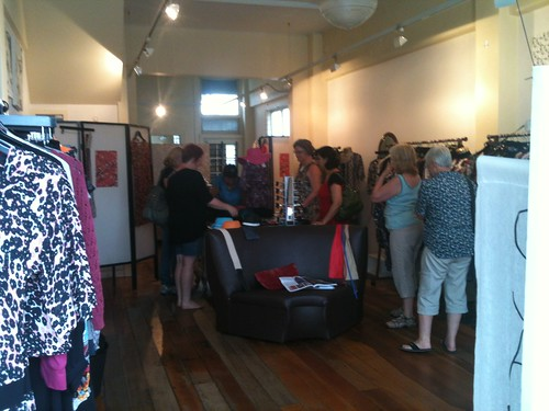 My cousin, Susans shop! Vanilla Ink - women's clothing on Dominion Road in Auckland