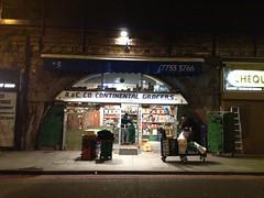 A&C Co. Continental Grocers. Brixton, Southwest London, SW2, SW9