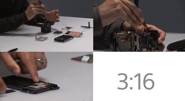 como se ensambla la sony rx1