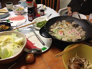 Shabu-shabu for Lunar New Year
