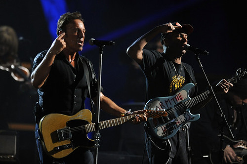 Bruce Springsteen y Tom Morello