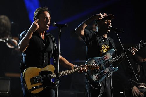 Bruce Springsteen y Tom Morello