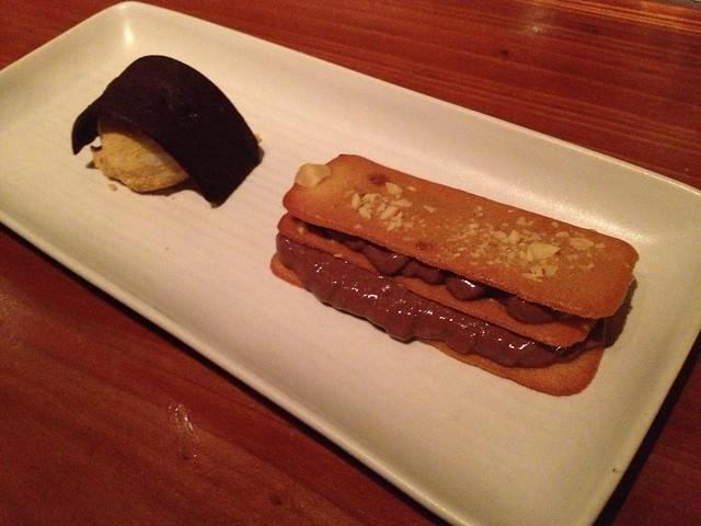 Chocolate mousse napoleon - Maven