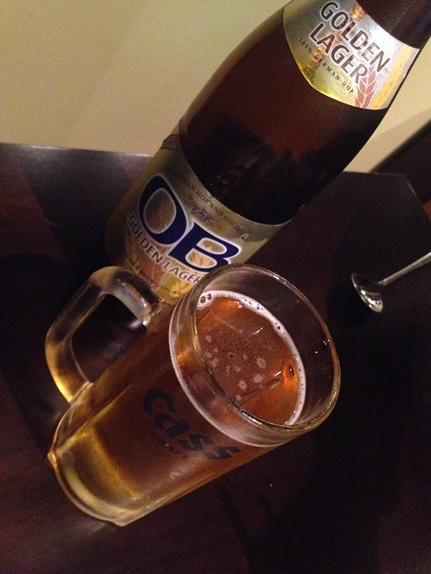 OB Lager beer - K-pop
