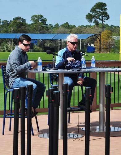 Tampa Bay Rays Spring Training Press Conference, Charlotte Sports Park, Port Charlotte, Fla., Feb. 12, 2013