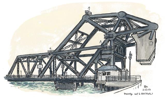 drawbridge 3rd st SF