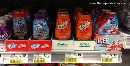 Hawaiian Punch Crush Orange Water Enhancers