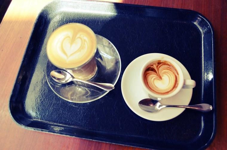 Latte and Macchiato at Paul Bassett Shinjuku