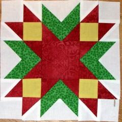 Jingle Pieced Block 1