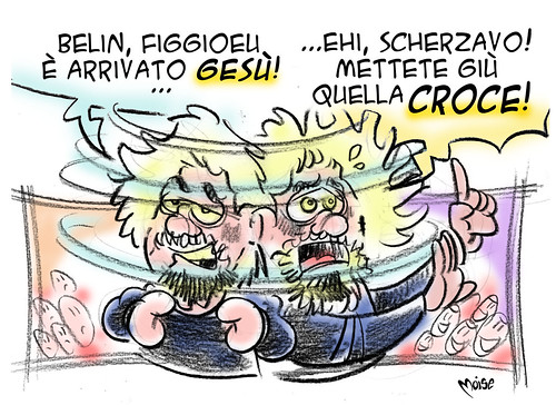 Gesù Grillo by Moise-Creativo Galattico