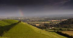 rainbow on Parock Hill