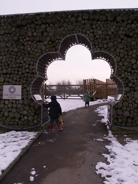 Rosliston - main entrance