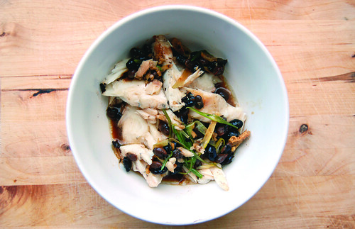 Chinese New Year steamed fish