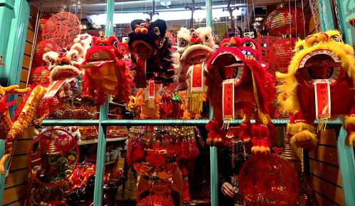 Happy Chinese New Year 10 Feb 2013 (China Town London)