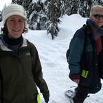 Snowshoeing Beams