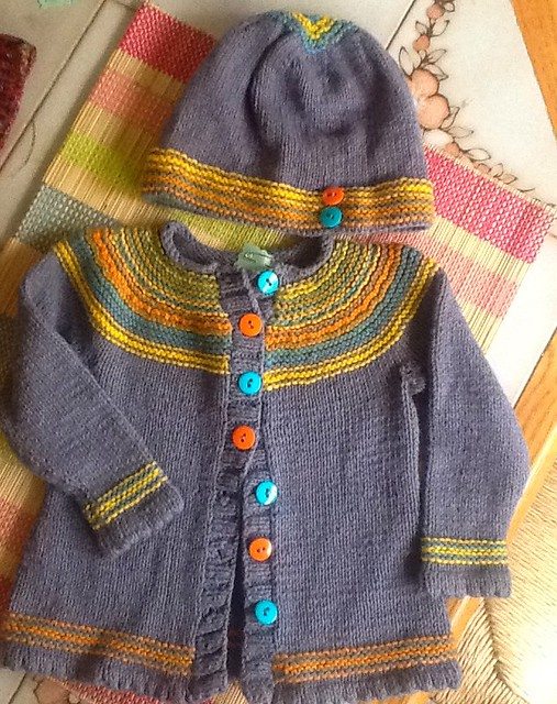 Playful stripes cardigan1f
