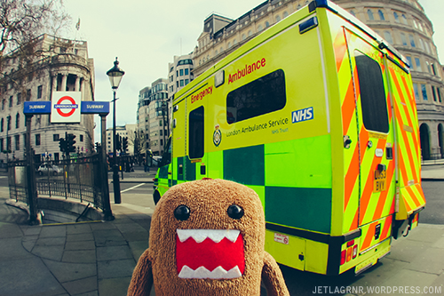 domo and london ambulance