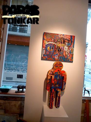 Tarek à la galerie Philippe Gelot, Paris by Pegasus & Co