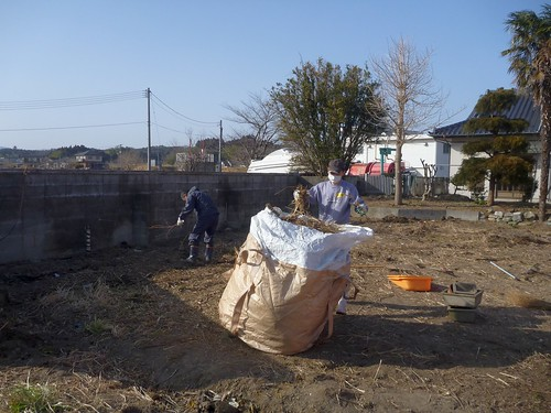 南相馬でお手伝い(援人 2013年3月9日・10日) Volunteer at Minamisoma, Fukushima. Affrected by the Tsunami of Japan Earthquake and Fukushima Daiichi nuclear plant accident.