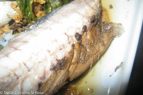 Stella Dacuma Schour Mackerel and Spinach Adobo Adobong Galunggong at Kangkong Cooking with Stellaaa