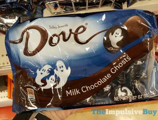 Dove Milk Chocolate Ghosts