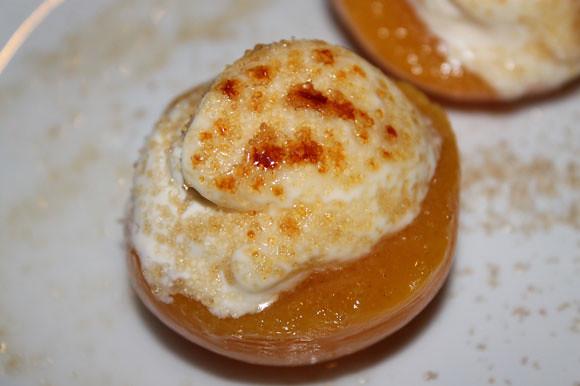 Pfirsiche mit Mascarponecreme