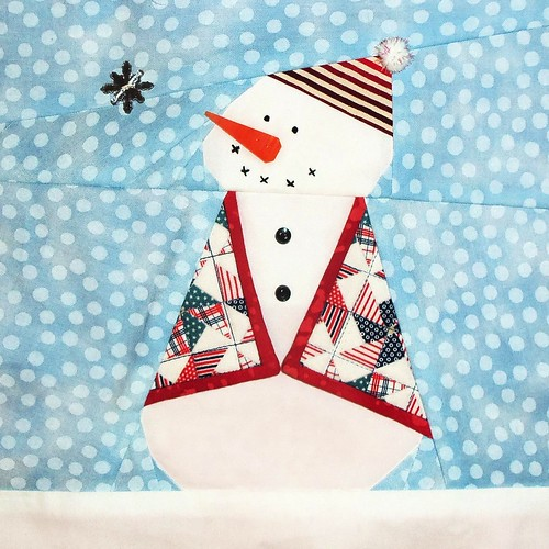 Layton Quilt Guild snowmen block... by ruthiequilts