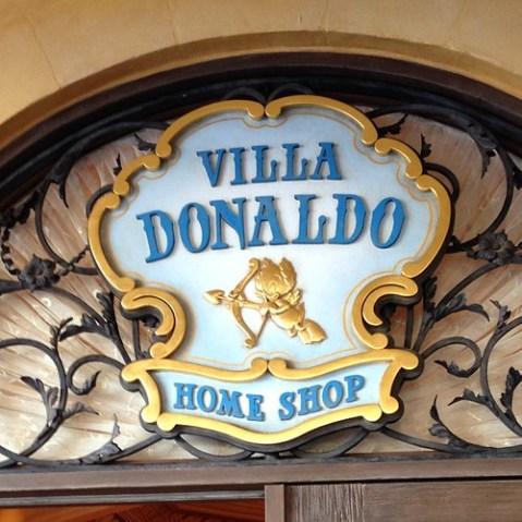 新ショップ、ヴィラ・ドナルド。