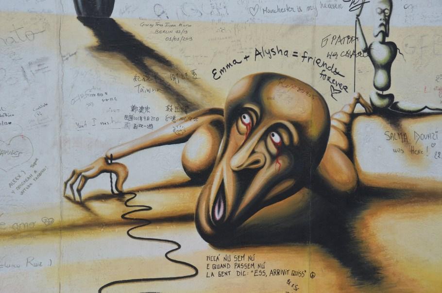 Berlin Street Art, foto door Johnny, hunzas666