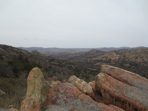 from the top of Mount Scott
