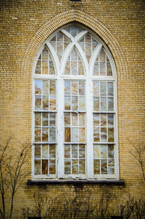 Central Baptist Church Window