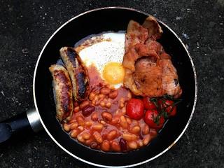 English Fry-up Breakfast