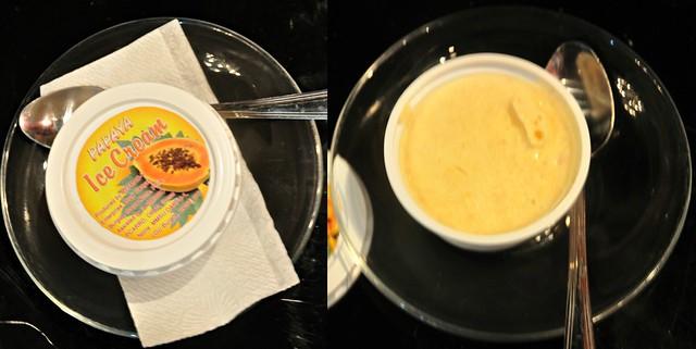 Papaya Ice Cream